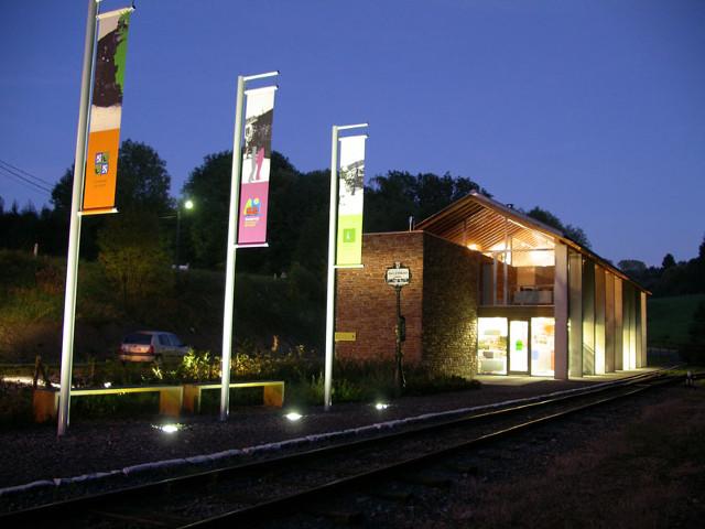 Gare et musée du tram