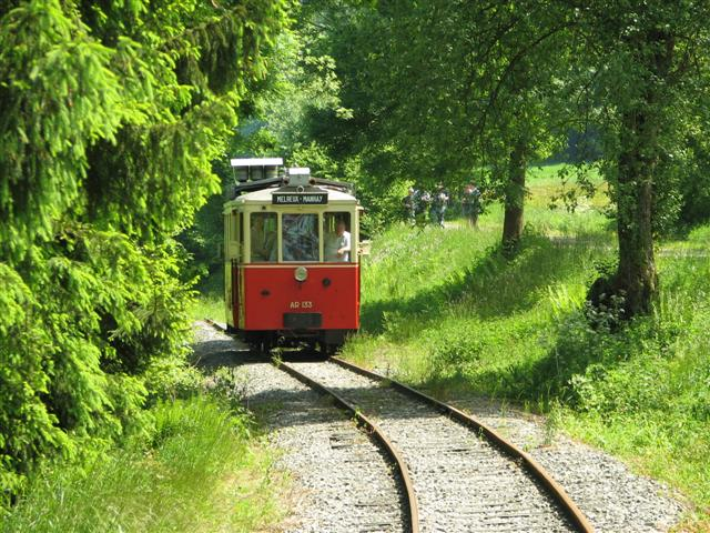 Wallonie insolite tramway touristique Melreux Manhay