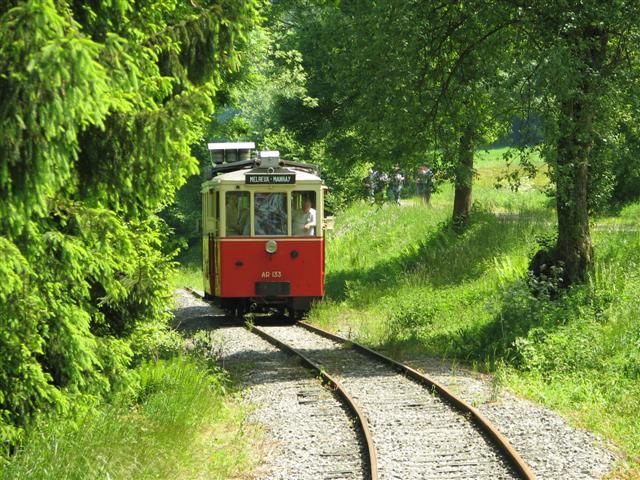 Ligne vicinale Melreux - Manhay
